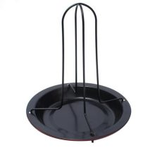 Useful Non-Stick Chicken Roaster Rack With Bowl BBQ Accessories Tools Barbecue Grilling Baking Cooking Pans