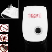 Electronic Ultrasonic Healthy Rechargeable Anti Mosquito Insect Pest Reject Mouse Repellent Repeller Practical Home EU/US Plug