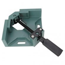 Single Handle Aluminum Alloy Right Angle Clamp 90 Degree Welding Fixture Corner Clamp