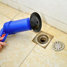 New High Pressure Powerful Manual Sink Plunger Home Air Drain Blaster Pump/Gun/Cleaner/Opener Plastic Unclog Toilet Plunger