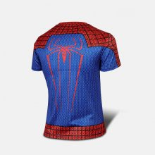 T-shirt Superman Batman Spider Man Captain America  Hulk Iron Man T Shirt Men Fitness Shirts Men T Shirts