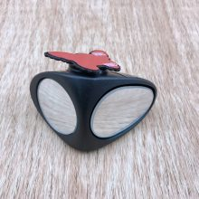360 Degree Rotatable 2 Side Car Blind Spot Convex Mirror Automibile Exterior Rear View Parking Mirror Safety Accessories