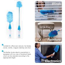 Brush Cleaning Tool Portable Electronic Hair Brush Spin Electric Hand Duster Motorized Dust Wand Removes Dust Home Rechargeble