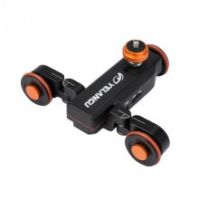 Mini Motorized Electric Track Slider Motor Dolly Truck Car w Remote Control for Camera Camcorder DV for Camera