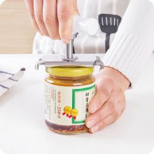 Kitchen Accessories Adjustable Can Bottle Cap Opener Kitchen Screw Cap Bottle Wrench Free Size  Stainless Steel Can Tin Openers