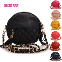 New tassel chain small women bags fashion designer girls messenger bag  brand leather crossbody bags candy colors lady handbags