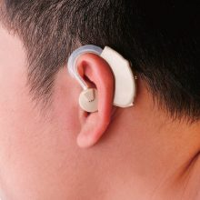 Original Cyber Sonic BTE Hearing Aid Personal Sound Amplifier Ear hearing aids for the elderly TV Hearing device