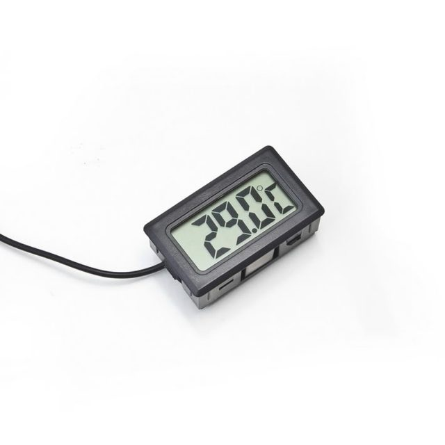 1Pc LCD Digital Thermometer for Freezer Temperature -50~110 degree Refrigerator Fridge Thermometer Free Shipping